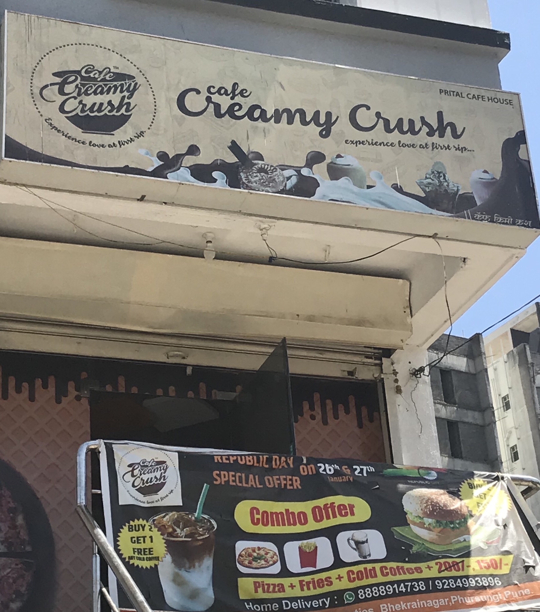 Cafe Creamy Crush Cafe in Fursungi Pune