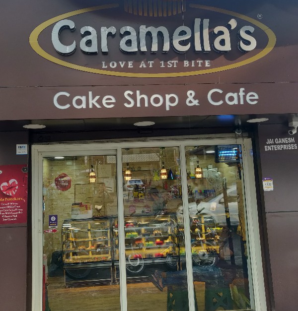 Caramella's Cake Shop & Cafe Bakery in Kothrud Pune