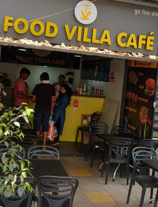 Food Villa Cafe Cafe in Kothrud Pune