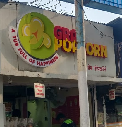 Grab Popcorn Snacks Center in Kothrud Pune