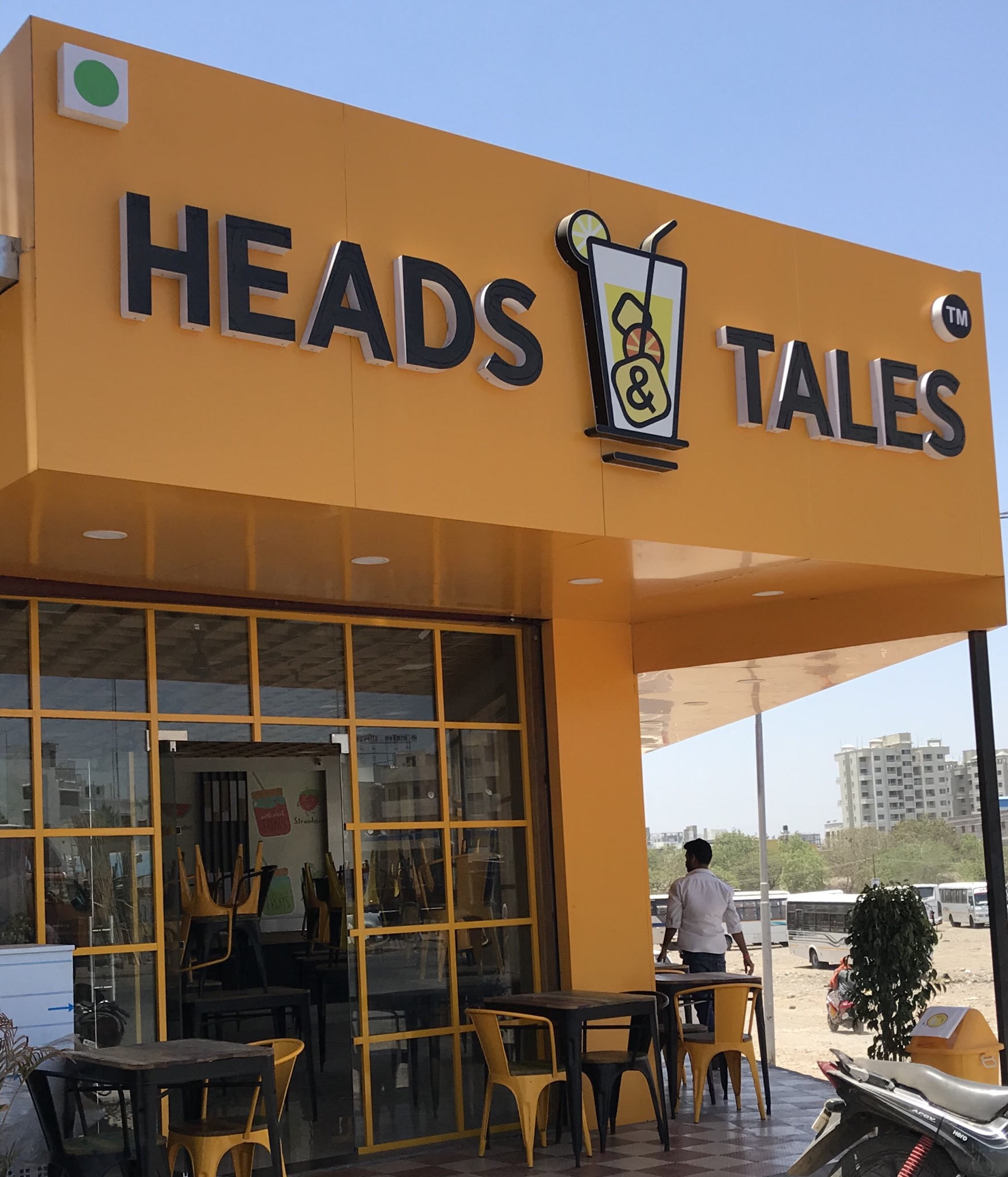 Heads & Tales Cafe in Wagholi Pune